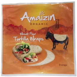 TORTILLA WRAPS BIO 240 g -...