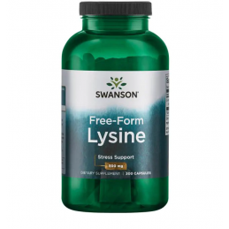 FREE FORM L-LYSINE 500 mg,...